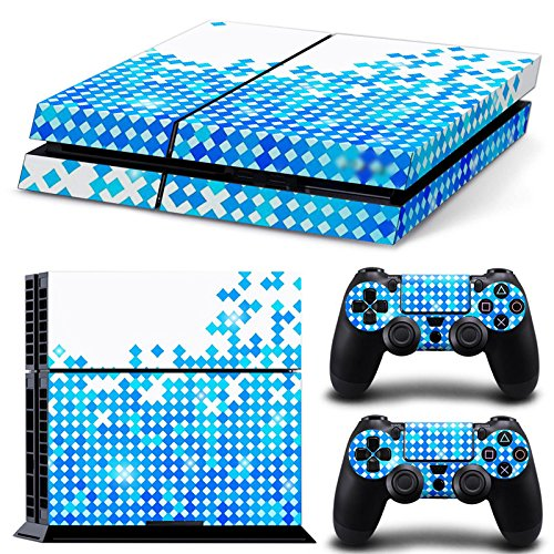 Ake Vinyl Decal Protective Skin Cover Sticker para PS4 Playstation 4 Console and Controllers 61dfP6ps5JL