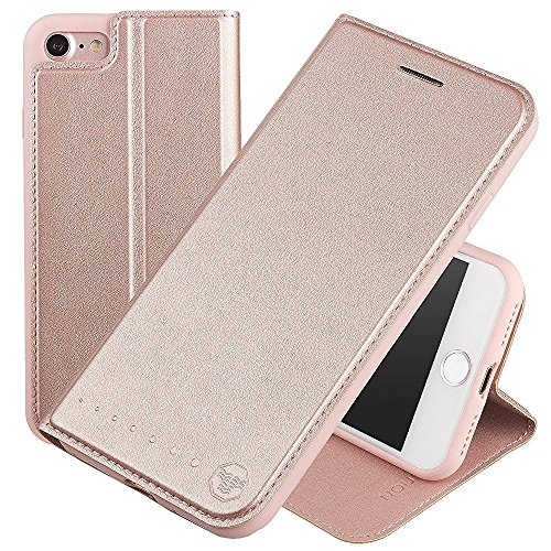 Nouske Funda tipo cartera iPhone 7 Plus iPhone 8 Plus