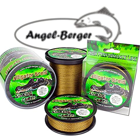 Angel Berger Alligator Braid Camou geflochtene Schnur ( 1000m / 0.22mm)