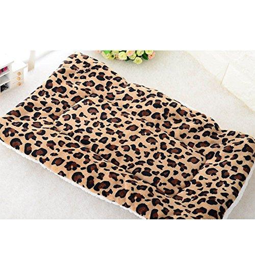 zreal Autumn Winter Pet Dog Sleep Warm Soft Cushion Print Thicken Flannel Cotton Breite Cats Dogs matt Puppy Blanket Bed Pad -