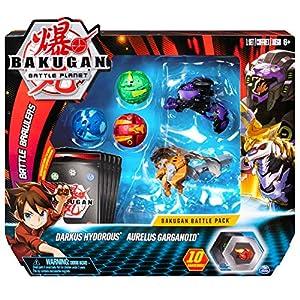 Spin Master Bakugan Battle 5 Pack - Mix 3 - Peonzas (Batalla de trompos, Multicolor, 6 año(s), Niño, China, 304,8 mm)