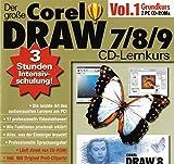 Der gro�e CorelDraw 7 / 8 / 9 CD Lernkurs Vol.1 Bild