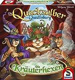 Schmidt Spiele 49358 Die Quacksalber von Quedlinburg Die Kräuterhexen, Strategiespiel, bunt