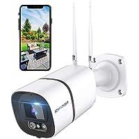 Telecamera di sorveglianza wifi da esterno, 1296P HD MP, Lega di alluminio e impermeabile IP66, disponibile con Alexa…