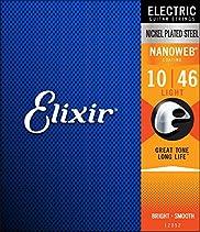Elixir 12052 Electric Guitar Saiten 6 Light Nanoweb Coating