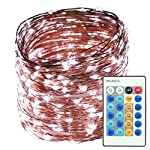LED String Lights 164ft 500LEDS Waterproof Starry Copper Wire Light with Dimmable Remote Control Decorative Lighting for Christmas Tree,Festival Holiday,Party,Garden, Wedding,Indoor&Outdoor,Home,Patio