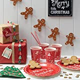 Ginger Ray Xmas Ribbons in 3 Styles with Stars, Merry Christmas & Red & White Butchers Twine - Vintage Noel