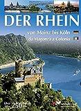 XXL-Book Rhein (deutsche/ital. Ausgabe) von Mainz bis Köln/fran Mainz till Köln - Renate Rahmel, Manfred Rahmel