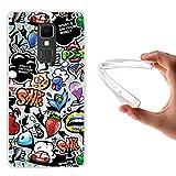 WoowCase Elephone S3 Hülle, Handyhülle Silikon für [ Elephone S3 ] Coloriertes Graffiti Handytasche Handy Cover Case Schutzhülle Flexible TPU - Transparent
