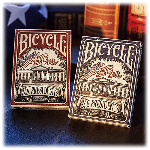 carte-bicycle-us-presidents-blu