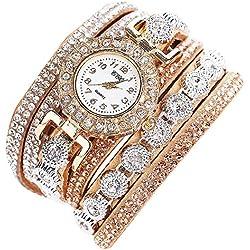 Sunnywill CCQ Frauen Mädchen Damen Schöne Mode Design Strass Armband für Weibliche