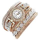Sunnywill CCQ Damen Schöne Mode Design Strass Armband für Weibliche (Beige)