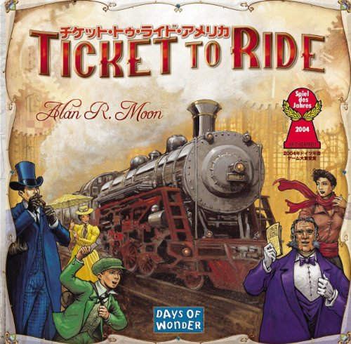 Preisvergleich Produktbild Ticket To Ride America Japanese version (japan import)