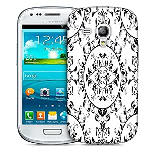 Snoogg Dining Matt Pattern Printed Protective Phone Back Case Cover For Samsung S3 Mini / S III Mini