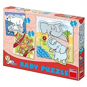 Dino Toys 325050 Zoo - Puzzle para bebé, diseño de Sierras de jigsaws