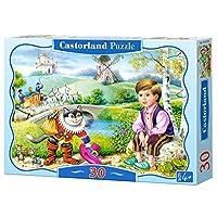 Castorland Cat in Boots Classic Jigsaw (30-Piece)