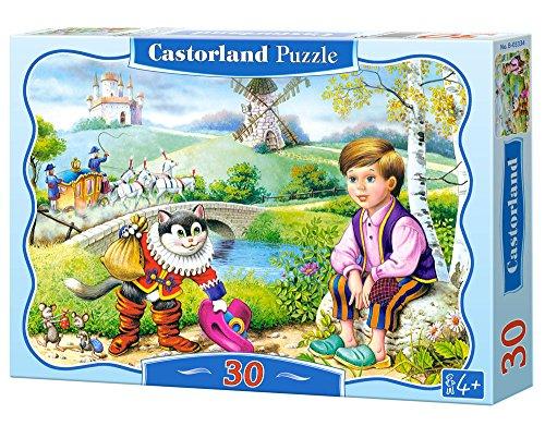 Castorland - Gatto Con Gli Stivali, Puzzle 30 Pezzi
