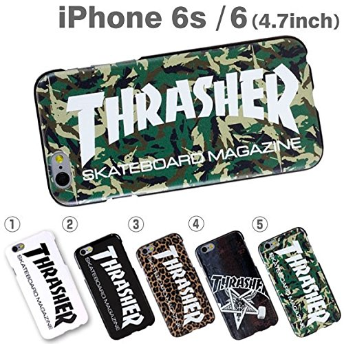 [Original Retail Packaging]Thrasher Plastic Case for iPhone 6 / iPhone 6s (Skating got) Skating Got