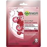 Garnier Skin Naturals, Ageless White, Face Serum Sheet Mask (Red), 32g