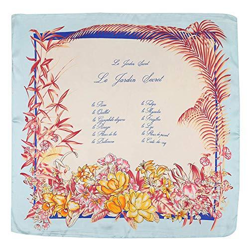 GreatestPAK Damen Schal Sonnenschirm kleine quadratische Kopfschmuck gedruckt Vintage Mode Platz Handtuch Blumendruck Haarband