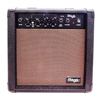 Stagg 10 AA EU Amplificateur pour Guitare Acoustique 10 W Noir de Stagg