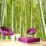 Amazhen Hochwertige Bambus Tapeten Oriental Style Umweltfreundliche Wohnzimmer Hintergrund Wand Wohnkultur Wandbild Tapeten,200cm*140cm