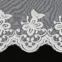 Cinta de encaje bordada de tela para costura, 8 cm