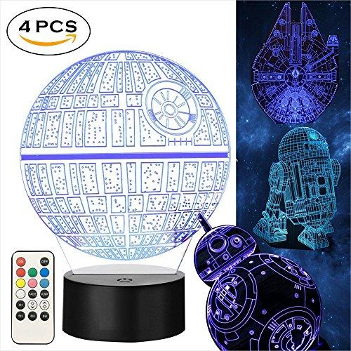Star Wars 3D Lampe für Geschenke- Star Wars -