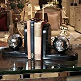 INDIA JANE Silver Ball Bookend Set