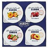 Zuegg Monoporzioni Assortite - 21 confezioni da 4 pezzi da 25 g [84 pezzi, 2100 g]