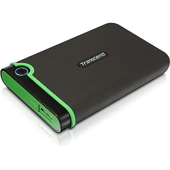Transcend 500GB 2.5 inch USB 3.0 Military-Grade Shock Resistance Portable Hard Drive