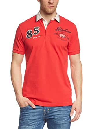 Esprit 034EE2K037 - Polo - Manches courtes - Homme - Rouge (COOL RED) - FR: XXXL (Taille Fabricant: XXL)