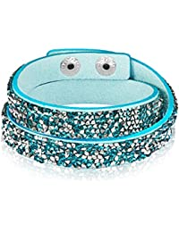 Rafaela Donata - Bracelet fashion cristal de verre - En différentes longueurs, bracelet cristal de verre - 60917042
