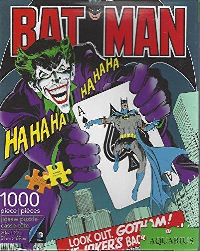 Aquarius 1000 Piece Jigsaw Puzzle Batman The Joker NEW by Aquarius