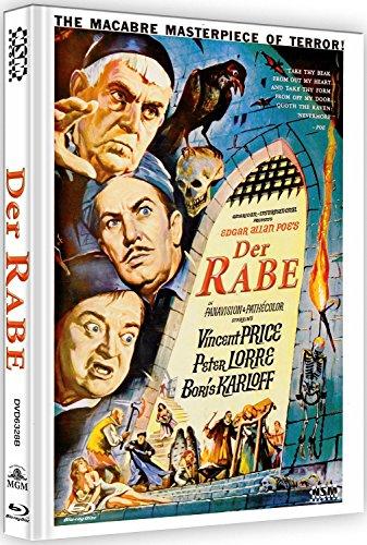 Der Rabe - Duell der Zauberer - uncut (Blu-Ray+DVD) auf 333 limitiertes Mediabook Cover B [Limited Collector's Edition]
