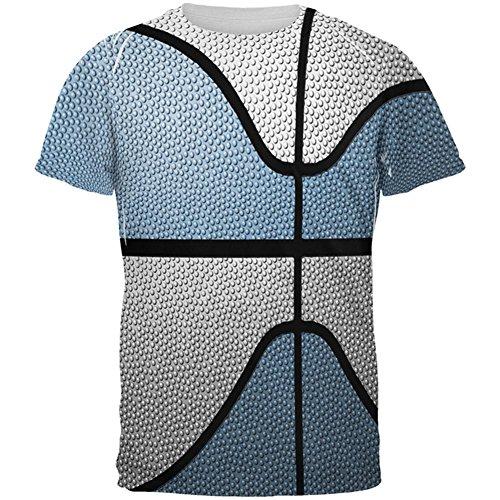 Old Glory Championship Basketball Light Blue & White Ganz Herren T-Shirt Multi 2XL (Blue Light Basketball-t-shirt)