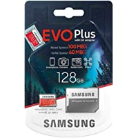 Samsung Plus 128GB micro SD SDXC Class 10 U3 memory card 100MB/S 4K Ultra HD MB-MC128HA/EU