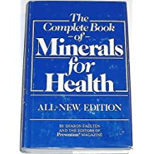 Complete Book of Minerals for Health