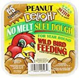 C & S Products 12507 Peanut Delight Suet Dough Cake 11.75 Oz (Pack of 12)