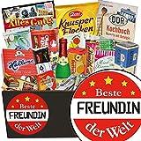 Beste Freundin | Süssigkeiten Geschenkbox | Geschenk Set | Beste Freundin | Ideen 16 Geburtstag Geschenk beste Freundin | inkl. DDR Kochbuch