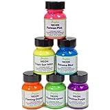 Angelus Neon Acrylic Paint Starter Kit, 6 Pack