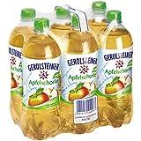 Gerolsteiner Apfel-Schorle mit 50% Fruchtgehalt, 6 x 0,75 l Flaschen