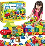 FunBlast Digital Block Train for Kids - Educational Model Vehicle Toys |123 Learning