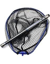 DB Partie Courte du Filet de Pêche à la Mer 4,5 / 5,5 Mètres Ultra-dur Carbone Léger Ji Ji Filet de Pêche Au Jade