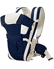 HOLME'S Adjustable Hands-Free 4-In-1/baby Carry Bags/Baby sefty Belt/Kid Carry Bag/Baby Sling/Back Baby Carrier/Front Carrier for babykids Carrier Belt/Buckle Straps (Blue)