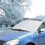 Coche Parabrisas Nieve ezykoo impermeable Automotive parabrisas Hielo, Hielo y nieve cubierta parasol protector de pantalla para coches camiones SUV