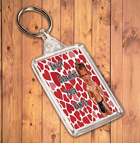 Preisvergleich Produktbild Funny / Rude Geschenk Sexy Hunk Schlüsselanhänger – für die Gordon Ramsay Admirer