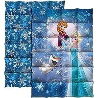 Disney Frozen Die Eiskönigin Steppdecke 140 x 200cm Tagesdecke Blau