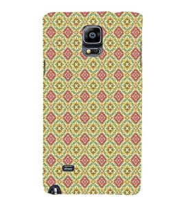 EPICCASE lovely diagram Mobile Back Case Cover For Samsung Galaxy Note 4 EDGE (Designer Case)