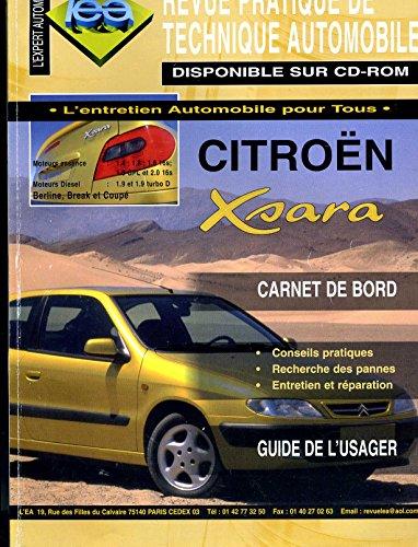Revue pratique de technique automobile - Citroen Xsara (édition 1998)